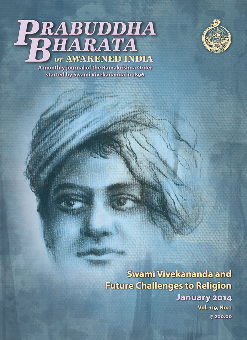 Prabuddha Bharata Jan 2014 Special issue on Swami Vivekananda